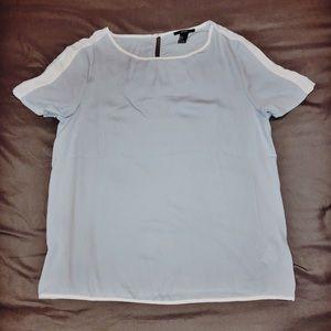 Forever 21 Pastel Blue Shirt